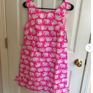 Pink Tusk in Sun Delia Shift Dress